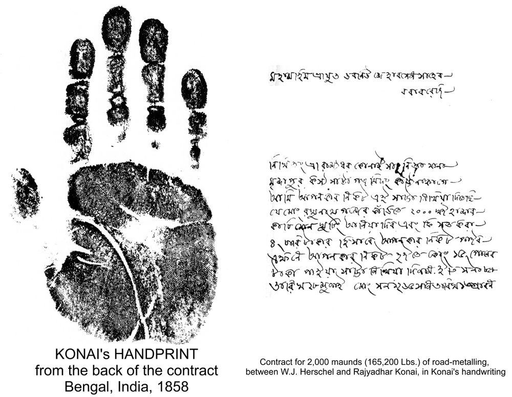 history of fingerprinting essay And fingerprint readers have a long history of vulnerabilities as well some are   this essay previously appeared on wiredcom edited to.